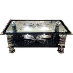 Glass-tea-table