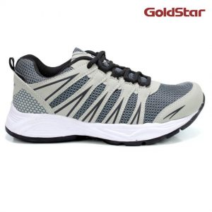 Goldstar Sport Shoes For Men- Grey-White