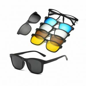 polarized magnetic sunglass