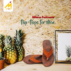 Milano Stylist Flip Flops For Mens 1610-06