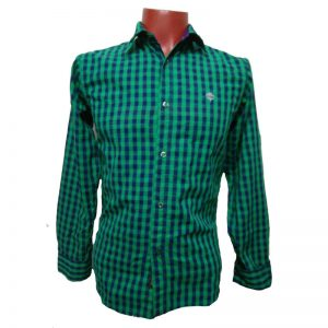 green-check-shirt