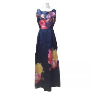 one-piece-blue-flowered-dress
