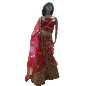 red-lehenga-trendy