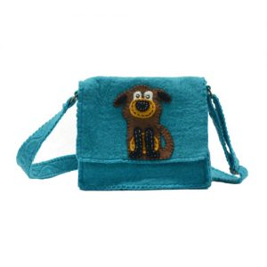 smiley-dog-messenger-bag