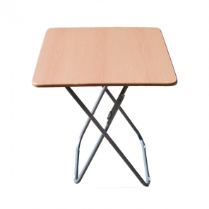 Foldable square table