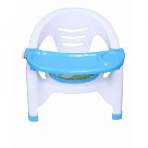 chair with attached table