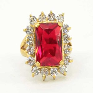 square-red-stone-ring