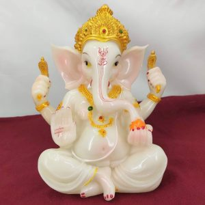 lord-ganesh-white-statue