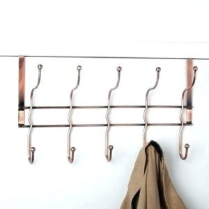 over-the-door-coat-rack-over-the-door-coat-hooks-take-a-look-at-this-antiqued-copper-over-door-hook-rack-old-door-coat-rack-and-bench