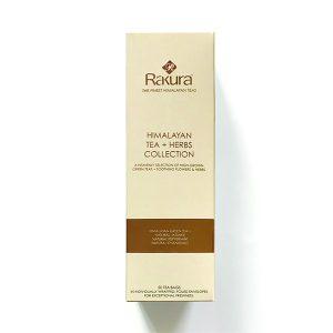 Rakura Himalayan Tea + Herbs Collection 50 TB
