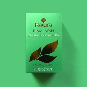 Rakura Himalayan Organic Light Green Tea 25 TB