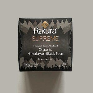 Rakura Supreme Organic Himalayan Black Tea 200 gm