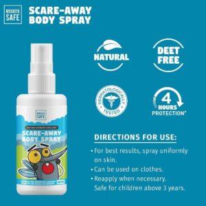 deet free mosquito repellent spray