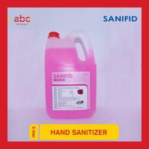 Sanifid-Hand-Sanitizer gel-5-liter