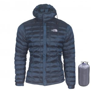 Silicone Winter Jacket Dark Blue