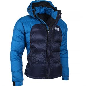 down jacket dark blue