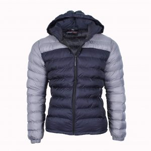 winter silicone jacket navy blue