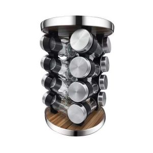 16 jar spice rack