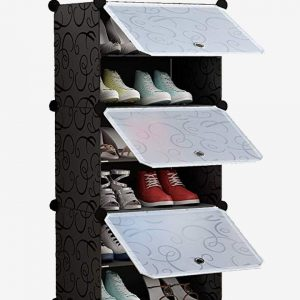 6 layer show cabinet