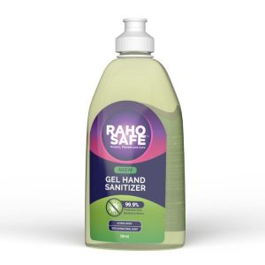 raho safe hand sanitizer with pump 500 ml