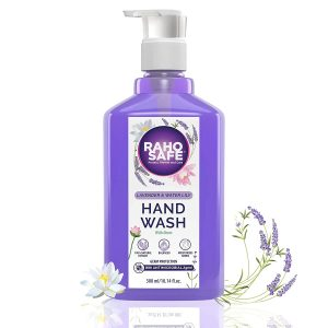 raho safe hand wash lavender and water lily