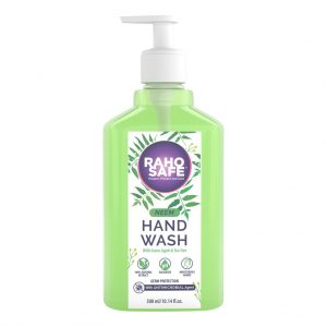 raho safe neem and green apple hand wash