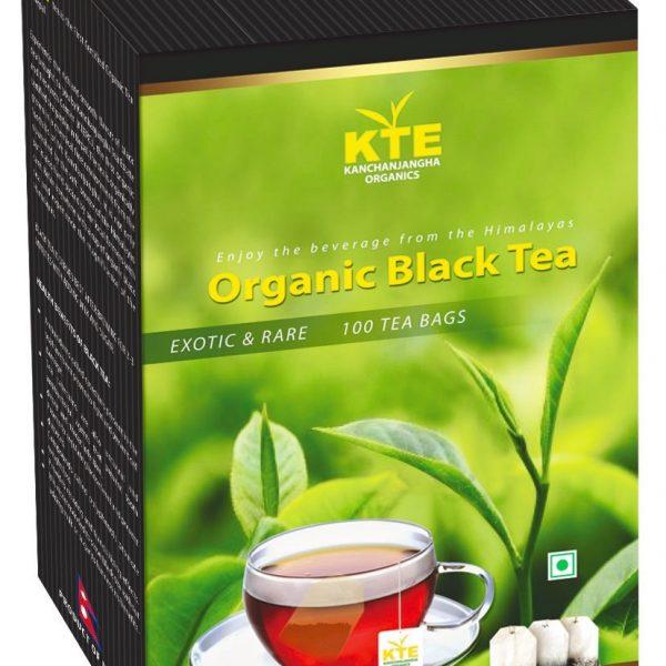 Organic Black tea box