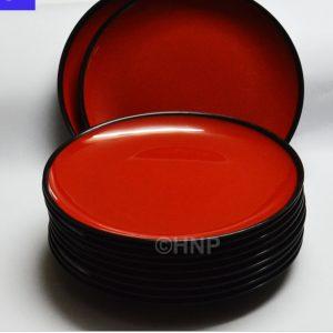 melamine red bowl2