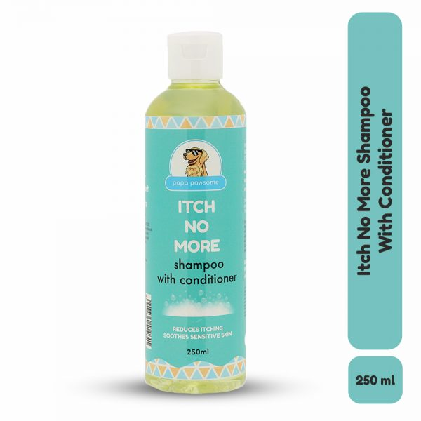 Papa Pawsome Itch No More Shampoo with Conditioner for dogs 250ml