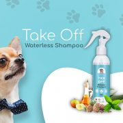 Papa Pawsome Tick Off Waterless Shampoo for dogs 200ml 1