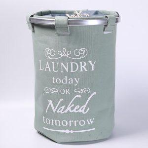 laundry bag written